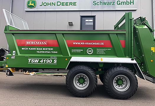 Neuer Bergmann Streuer Mannheim